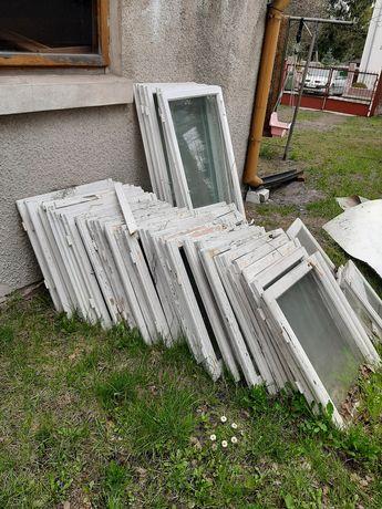 Okna z rozbiórki