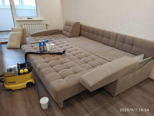 Химчистка диванов,матрасов,ковра,авто.Уборка после ремонта,генеральная