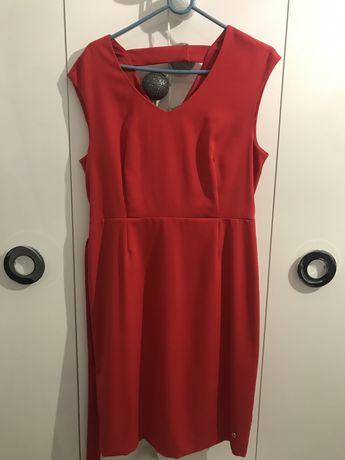 Sukienka czerwona 42 Top sekret