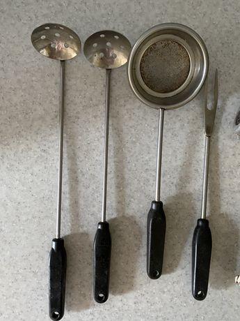 кухонная посуда столовые приборы