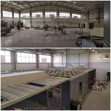 Konstrukcje stalowe hale spawanie ślusarstwo wykonanie montaż wiaty