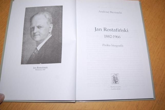 "Książka ""Jan Rostafiński : próba bibliografii"""