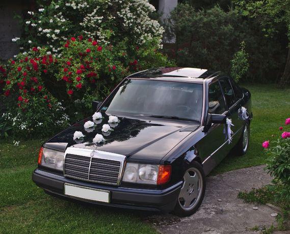 Auto samochód do ślubu Mercedes w124 Łuków Siedlce Radzyń Międzyrzec