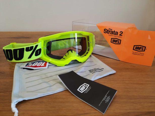 Кроссовые-эндуро очки (маска) 100% STRATA 2 для мото/вело/ATV ОРИГИНАЛ