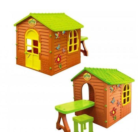 Детский садовый домик Mochtoys со столиком