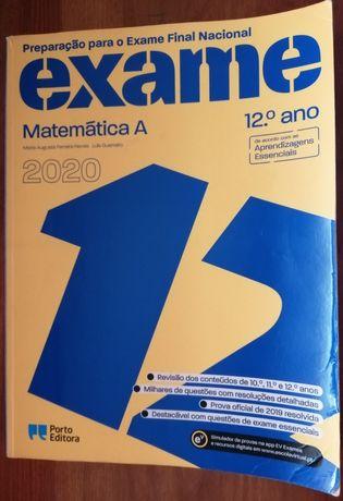 Livro de preparação para exame 12ano Matemática A Porto editora