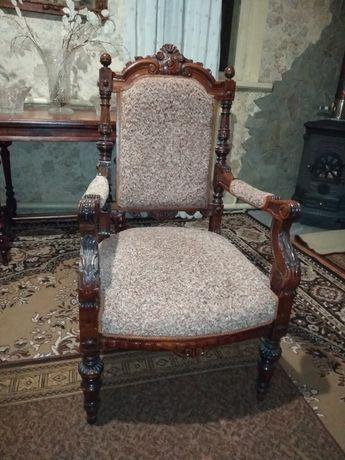 антикварное кресло 19 век