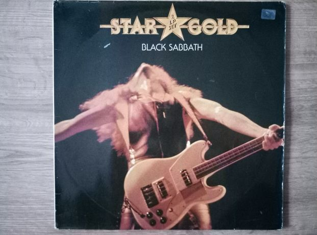 Black Sabbath star gold 2 x lp.