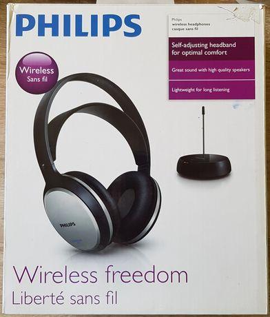 Słuchawki bezprzewodowe Philips Wireless freedom