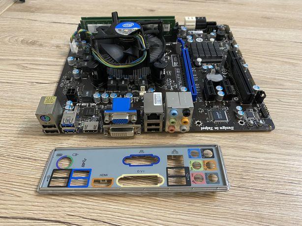 Комплект Asus H67MA-E35 + intel i3-2120 + 6gb DDR3