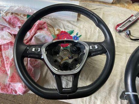 Руль Volkswagen кожа