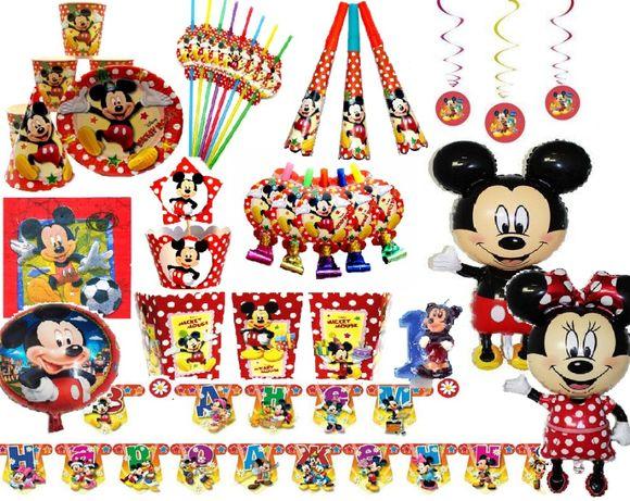 Декор на День Рождения в Микки Маус на 1 чел (кенди бар)