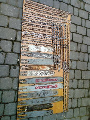 Łańcuchy i prowadnice