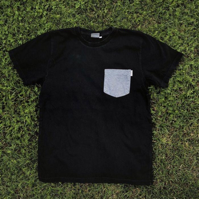 Czarna koszulka Carhartt kieszonka pocket tee Warszawa - image 1