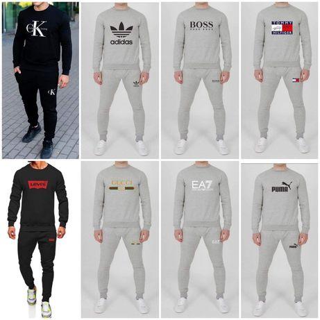 Komplety męskie z logo Adidas Tommy Ck Levis kolory M-XXL!!!