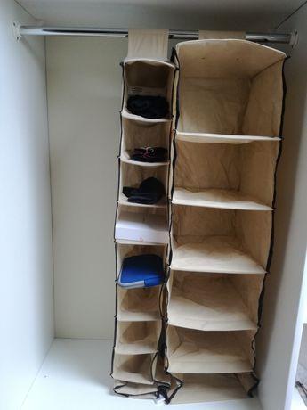 Półki z materiału