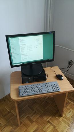 Komputer Dell  i5 8Gb,SSD 256Gb + monitor 23 cale, klawiatura, myszka.