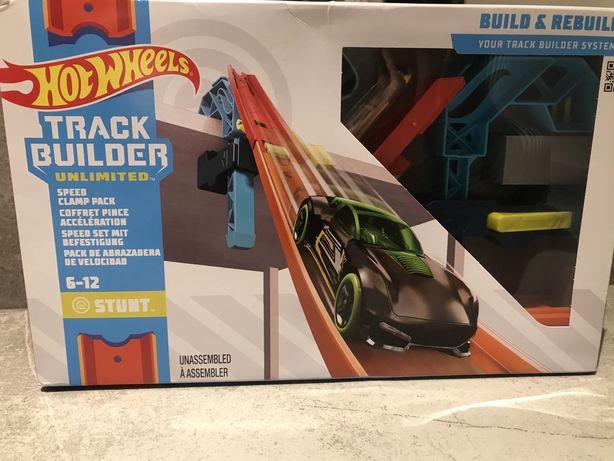 Hot Wheels Track Builder Zestaw do rozbudowy Zaczep z torem