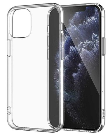 Etui futerał clear case obudowa do IPHONE 11 Pro 12 Mini Pro Max