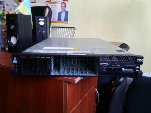 Сервер IBM X3650m3 2U 2x X5690(3,47GHz) 12C/24T 96GB DDR3 6x600Gb(SAS)