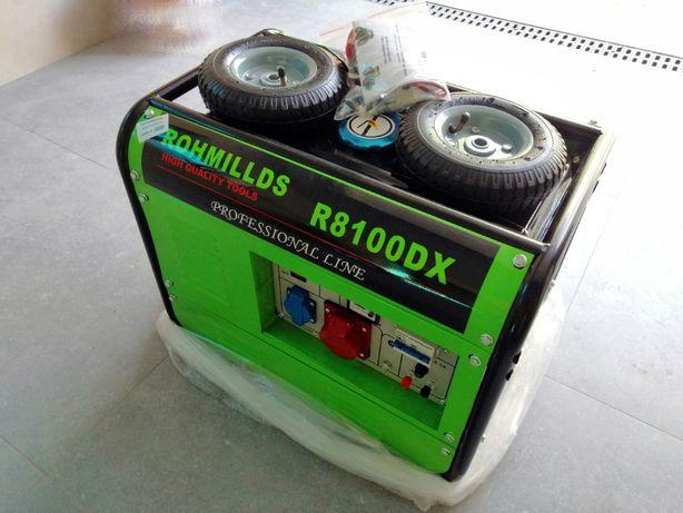 Agregat prądotwórczy Rohmillds R8100DX nowy, okazja