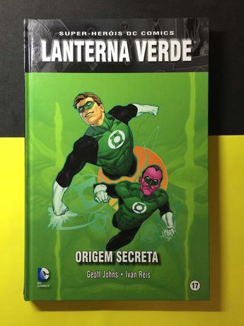 Super-Heróis DC Comics. Lanterna Verde - Origem Secreta