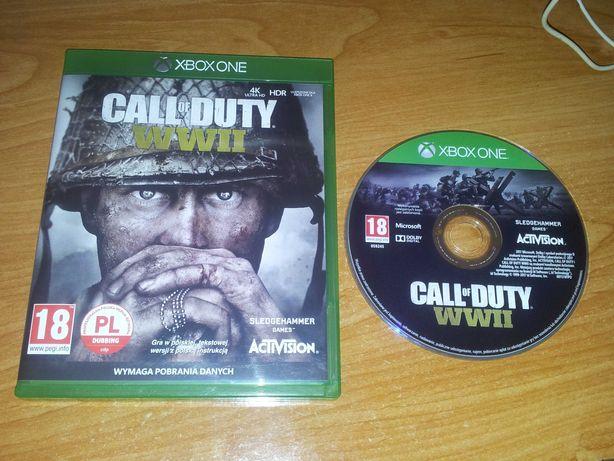 Call of Duty WW2 WWII pl - Xbox One / XSX - Polska wersja: Dubbing