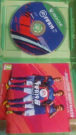 Gra FIFA19 xbox one