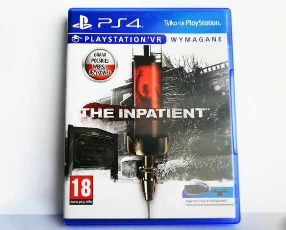 The Inpatient PL PS4 PlayStation 4 VR