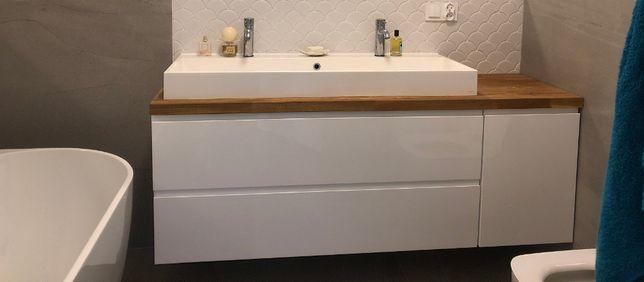 Szafka pod umywalkę BLUM - meble łazienkowe na wymiar - PRODUCENT