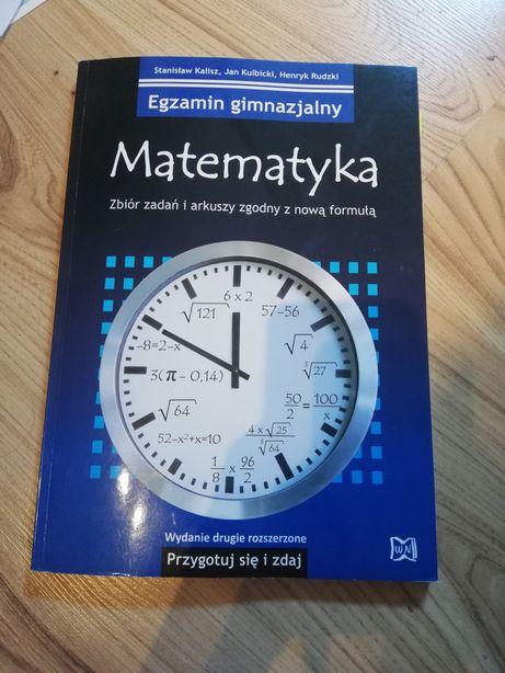 Matematyka zbiór zadań i arkuszy egzamin ósmoklasisty