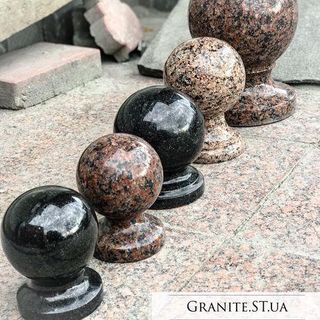 Пам'ятники ,гранітні кулі,вази з граніту