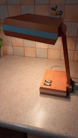 Lampa biurkowa lata 70