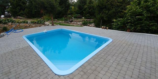 Basen ogrodowy poliestrowy kąpielowy gotowy wkopywany 6x3,2 PRODUCENT