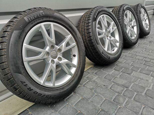 "NOWE OPONY Oryginalne Felgi Koła Audi 17"" A3 A4 A6 A8 Q3 TT"