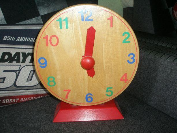 Zegar Drewniany Ikea do nauki