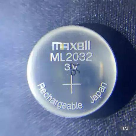 ML 2032 Maxell 3V литиевый аккумулятор
