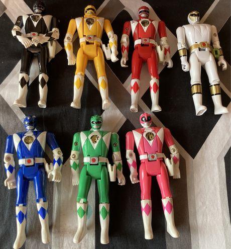 Power Rangers (coleccao rara) anos 80 vintage