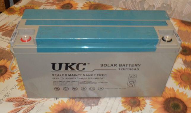 Гелеевые акумуляторы BATTERY GEL 12V 150A UKC