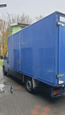 Skrzynia ładunkowa  ,zabudowa aluminiowo-metalowa ocieplana 4.3x2x2