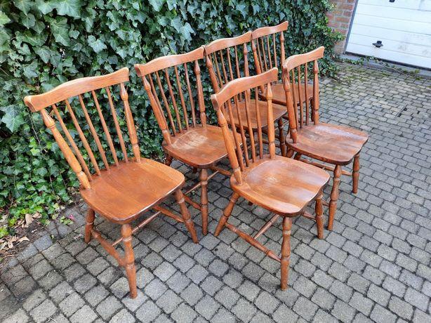 Krzesła drewniane/stylowe patyczaki