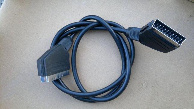 mniej KABEL SCART ( video) do połączenia TV np; z dekoderem Sprzedam :