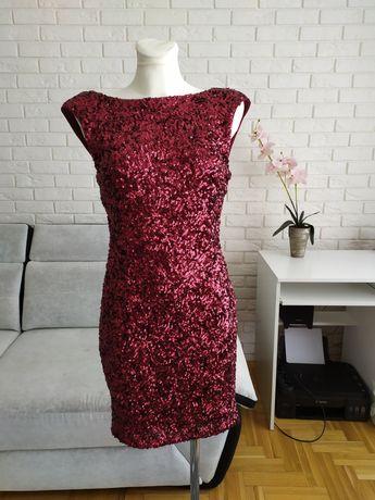 Cekinowa sukienka s