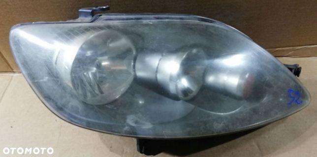VW Golf PLus 5 V 5M0 UK lampa prawa przód przednia