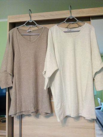 Tunika damska sweterkowa do rozmiaru 50