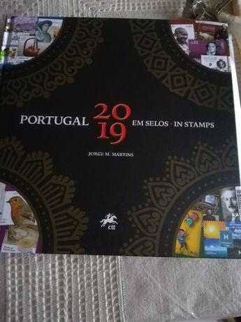 Livros Portugal Selos 2019