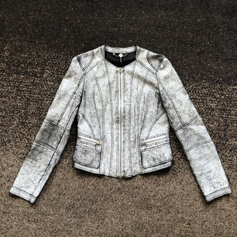 Marc Cain кожаная куртка оригинал