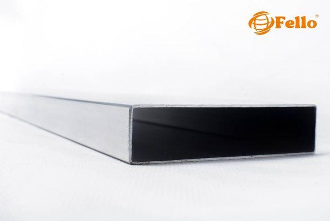 Profil aluminiowy 100x25 Sztacheta surowy hurt detal deska ogrodzenie