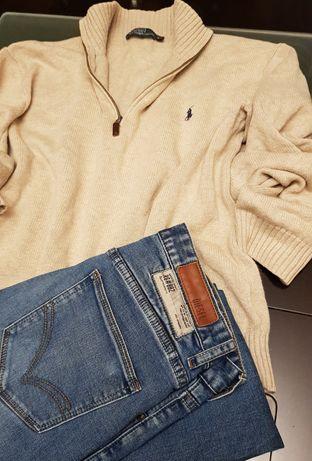 Sweter Ralph Lauren rozm XL