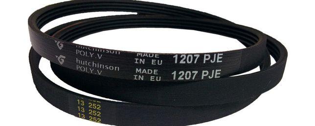 Ремень для стиральной машинки WIRPOOL верхней загрузки 1207 PJE